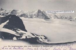 Suisse - Die Jungfraugruppe über Dem Nebelmeer V. Faulhorn Gel.- 1905 - BE Berne