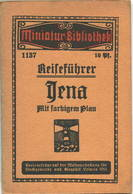Miniatur-Bibliothek Nr. 1137 - ReiseführerJena Mit Farbigem Plan - 8cm X 12cm -40 Seiten Ca. 1910 - Verlag Für Kunst U - Reiseführer