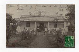 !!! CARTE PHOTO DE CHINE DE 1908 : HOPITAL DU PERE GRAN-PIERRE - RRR - China