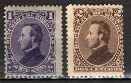 HONDURAS - 1878 - PRESIDENTE FRANCISCO MORAZAN - MH - Honduras