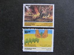 Mauritanie: TB Paire N° 559 Et N° 560, Neufs XX. - Mauritania (1960-...)