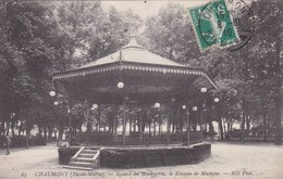 CHAUMONT SQUARE DU BOULIUGRIN LE KIOSQUE DE MUSIQUE (dil375) - Sonstige Gemeinden