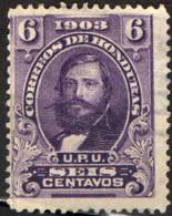 HONDURAS - 1903 - GENERALE SANTOS GUARDIOLA - USATO - Honduras