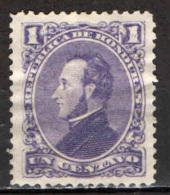 HONDURAS - 1878 - PRESIDENTE FRANCISCO MORAZAN - USATO - Honduras