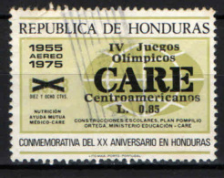 HONDURAS - 1989 - GIOCHI OLIMPICI SUDAMERICANI CON SOVRASTAMPA - OVERPRINTED - USATO - Honduras