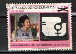 HONDURAS - 1989 - ANNO MONDIALE DELLA DONNA CON SOVRASTAMPA - OVERPRINTED - USATO - Honduras