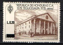 HONDURAS - 1988 - TEGUCIGALPA CON SOVRASTAMPA - OVERPRINTED - USATO - Honduras