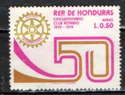 HONDURAS - 1979 - CINQUANTENARIO DEL ROTARY CLUB - USATO - Honduras