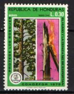 HONDURAS - 1976 - PROTEZIONE DEI BOSCHI - USATO - Honduras