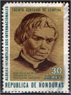 HONDURAS - 1972 - PADRE JOSE' TRINIDAD  REYES - USATO - Honduras