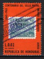 HONDURAS - 1966 - CENTENARIO DEL FRANCOBOLLO - USATO - Honduras