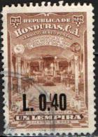 HONDURAS - 1965 - SALA PRESIDENZIALE CON SOVRASTAMPA - OVERPRINTED - USATO - Honduras