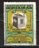 HONDURAS - 1965 - PADRE MANUEL DE JESUS SUBIRANA - USATO - Honduras