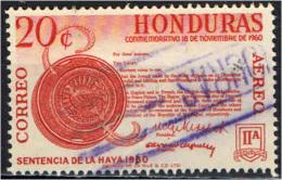 HONDURAS - 1961 - RITORNO ALL'HONDURAS DI TERRITORI DAL NICARAGUA - USATO - Honduras