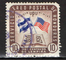 HONDURAS - 1958 - ISTITUTO DELLA CULTURALE INTERAMERICANA - USATO - Honduras