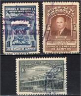 HONDURAS - 1949 - SUCCESSIONE DEL PRESIDENTE DELLA REPUBBLICA - STEMMA - USATI - Honduras