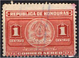 HONDURAS - 1946 - STEMMA DELL'HONDURAS - USATO - Honduras
