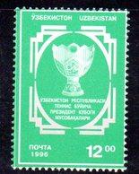 886 490 - UZBEKISTAN 1996 ,  Unificato N. 121  Nuovo ***  TENNIS - Uzbekistan