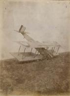 PHOTO SOUPLE NON LOCALISEE AVION A TERRE - AVIATION MAGAZINE AU DOS 97979 - Aviation