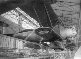 PHOTO SOUPLE CHALAIS-MEUDON MUSEE DE L'AIR DANS HANGAR A DIRIGEABLES - AVION 98009 - Aviation