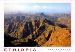 ETHIOPIA, ETHIOPIAN  HIGLANDS ON THE WAY TO THE  SIMIEN MOUTAIN  [46473] - Ethiopia