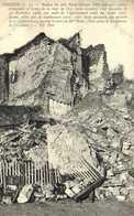 CHINON Ruines Du Fort Saint Georges (Coté Sud Est) Effondrement Le 30Dec 1906 Photo Prise Le Lendemain RV - Chinon