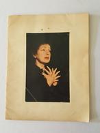 Edith Piaf - Programme Avec Une Véritable Photo En Couverture - Olympia - Claude Vega, Accordéon Marc Bonel, Rivgauche - Programmes