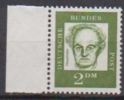 BRD 1961 MiNr.362y  ** Postfr.Bedeutende Deutsche ( 6855 )günstige Versandkosten - BRD