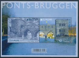 "BELGIUM/Belgien/Belgie EUROPA 2018 ""Bridges"" Minisheet** - 2018"