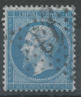 Lot N°43263   Variété/n°22, Oblit étoile Chiffrée 13 De PARIS  (Hotel-de-Ville), O De POSTES - 1862 Napoléon III