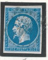 N°14 VARIETE POSTFS. - 1853-1860 Napoléon III