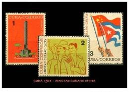 CUBA/KUBA 1964  AMISTAD CUBANO-CHINA  MNH - Cuba