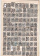 Lot De Timbres  Léopold 1 Er      Timbres 10 Et 20 Ct  Voir Cachets - 1865-1866 Linksprofil