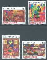 PILIPINAS - 2003 - MNH/** - CHRISTMAS - Yv 2822-2825  - Lot 17184 - Philippines