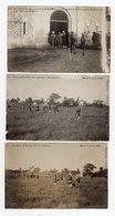 !!! INDOCHINE : SERIE DES 10 CARTES PHOTO DE L'EXECUTION DES EMPOISONNEURS A HANOI LE 6/8/1908 (8 SCANS) - Viêt-Nam