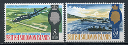 1968 - ISOLE SOLOMONE  -  Mi. Nr. 161/162 - NH - (CW4755.20) - Isole Salomone (1978-...)