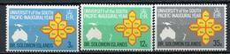 1968 - ISOLE SOLOMONE  -  Mi. Nr. 182/184 - NH - (CW4755.20) - Isole Salomone (1978-...)