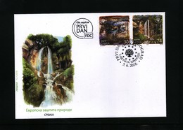 Serbia / Serbien 2018 Nature Protection FDC - Umweltschutz Und Klima