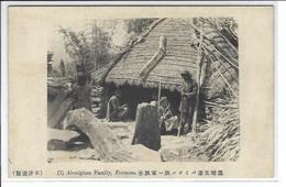 CPA Formose Formosa Asie Types Aborigènes Non Circulé - Formosa
