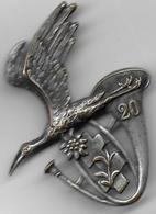 20e Bataillon De Chasseurs Alpins - Insigne Arthus Bertrand Paris Déposé - Army