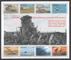F714 COMMONWEALTH OF DOMINICA 50 ANNIVERSARY OF THE WORLD WAR II 1KB MNH - 2. Weltkrieg