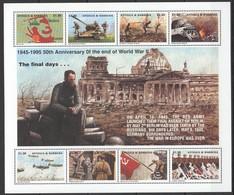 F715 ANTIGUA & BARBUDA 50 ANNIVERSARY OF THE WORLD WAR II  THE FINAL DAYS 1KB MNH - 2. Weltkrieg