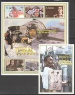 F717 ST.VINCENT & THE GRENADINES WORLD WAR 2 PEARL HARBOR 1KB+1BL MNH - 2. Weltkrieg