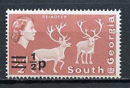 1971 - SOUTH GEORGIA  -  Mi. Nr. 25 - NH - (CW4755.20) - Francobolli