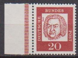 BRD 1961 MiNr. 352y Plattendruck ** Postfr.Bedeutende Deutsche ( 6861 )günstige Versandkosten - BRD