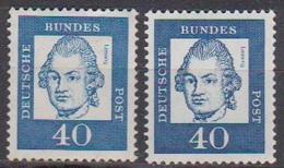 BRD 1961 MiNr. 355x + Y ** Postfr.Bedeutende Deutsche ( 6863 )günstige Versandkosten - BRD