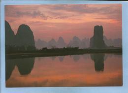 Morning In Qingyadu (China Chine) 2 Scans - China