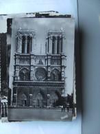 Frankrijk France Frankreich Parijs Paris Notre Dame Facade - Notre-Dame De Paris