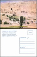 Afghanistan A View Of Bamiyan Buddha Valley Postcard (EN-11) - Afghanistan