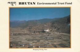 BHUTAN USED POSTCARD,RIMPUNGDZONG.PARO..(PD) - Bhutan